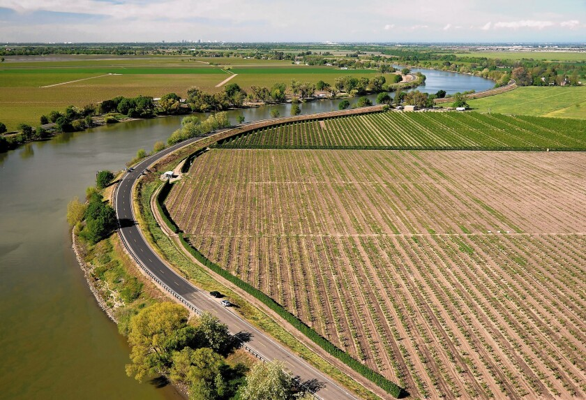 Officials announced Tuesday that they are allowing water managers to send more Northern California water south. The move comes as fishery agencies are under increasing political pressure to take advantage of late winter storms and ramp up pumping from the Sacramento-San Joaquin delta, the center of the state's water distribution system.