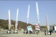 South Korea opened fire on North Korean balloons