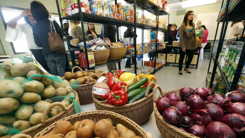Pirates' Cove, a food pantry with more fresh options, at Orange Coast College offers students health