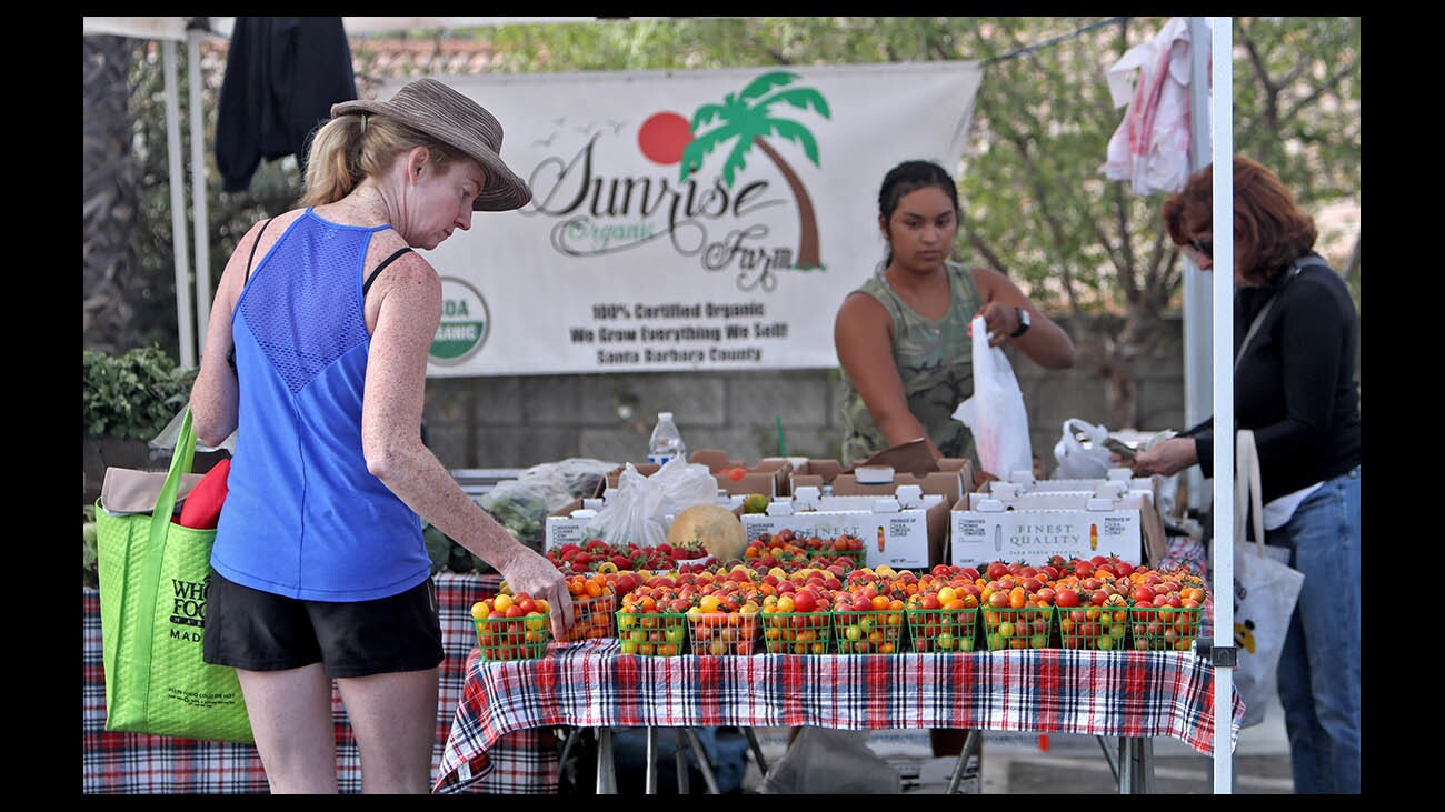 Photo Gallery: Farmer's Market offers wide variety of organic fruits, vegetables, meats along with flowers, nuts, cheese and juices