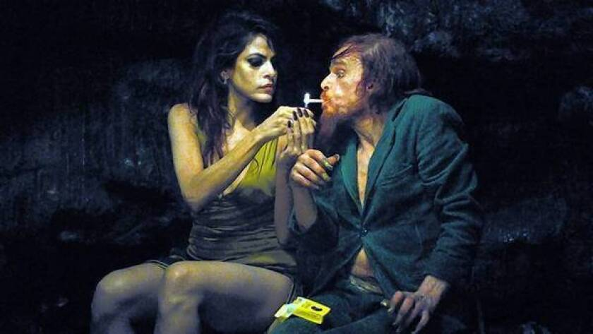 Review: 'Holy Motors' takes an eerie ride through identity