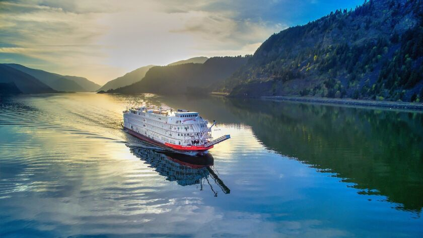 Take a riverboat down the Columbia River to see fall colors in the Pacific Northwest