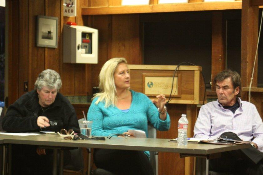 LJSA members Mary Coakley-Munk, Izzy Tihanyi and John Sheridan.