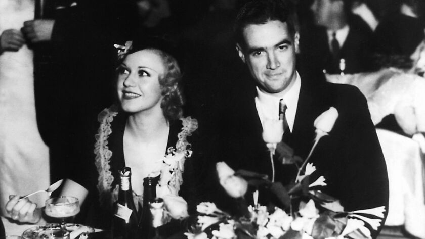 Howard Hughes with Ginger Rogers