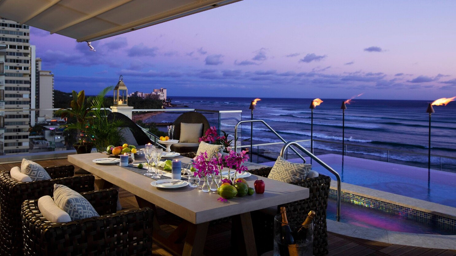 Take a look at Honolulu's $5,000-a-night, game-changing hotel: 9 floors, 9 suites