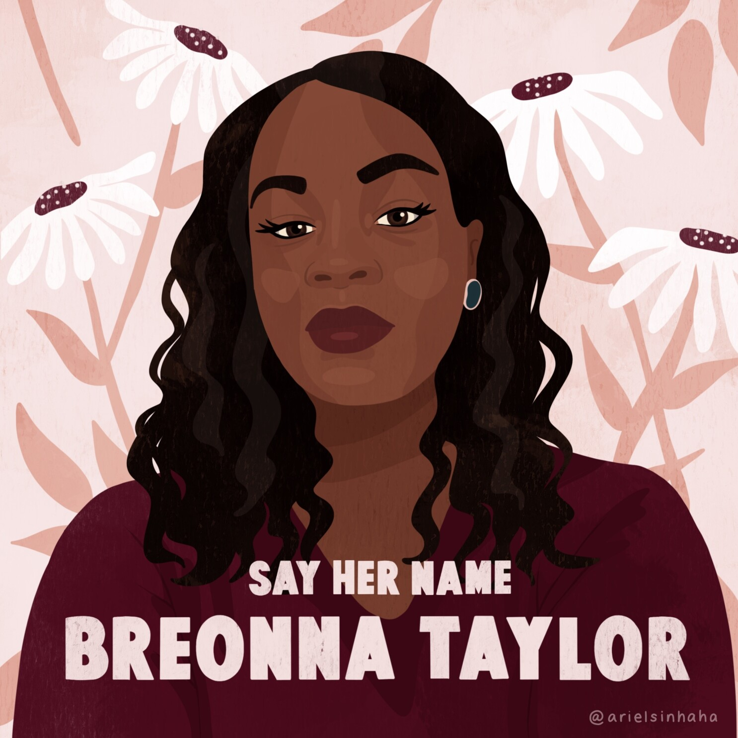 L A Woman Is Raising Awareness For Breonna Taylor S Death Los Angeles Times