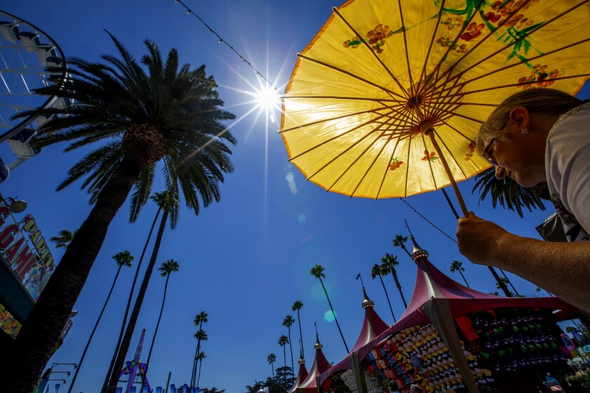 The Los Angeles County Fair is adjusting its hours to push the fun into the evening hours.