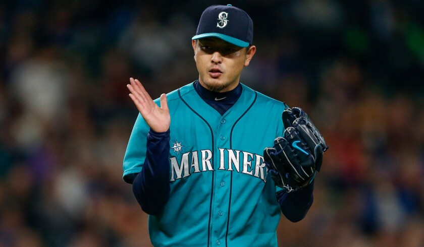 Hisashi Iwakuma wound up signing a one-year deal with two option years with Seattle.