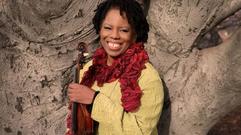 Violinist Regina Carter performs in La Jolla Music Society's Aug. 19 SummerFest concert.