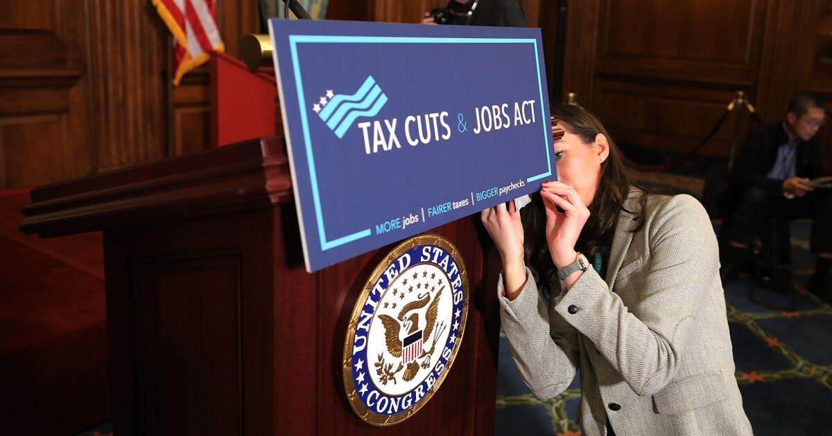 Op-Ed: The Tax Cuts and Jobs Act was wrongheaded from Day 1. It should be rethought