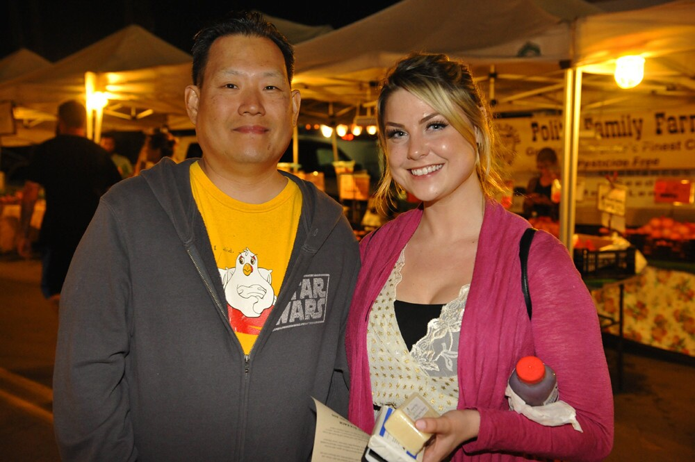 The North Park Thursday Market and businesses around the neighborhood stayed open late and offered special deals in honor of North Park After Dark on Thursday, March 9, 2017. (Jared Gase)
