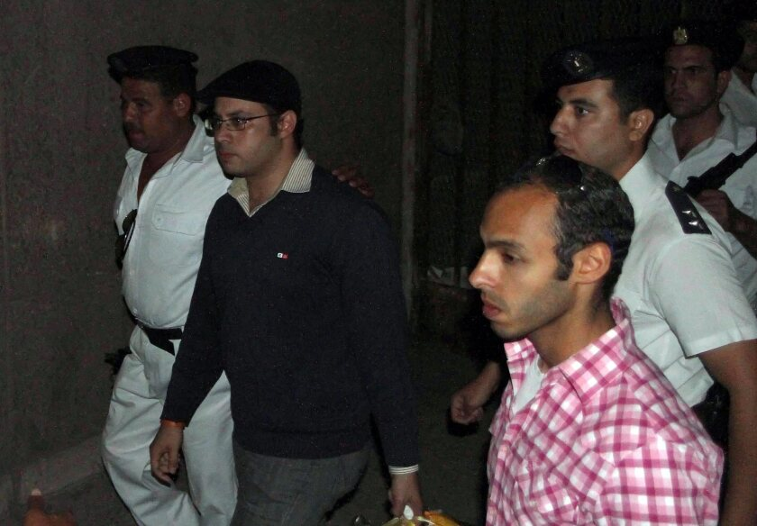 Egyptian youth movement leader arrested