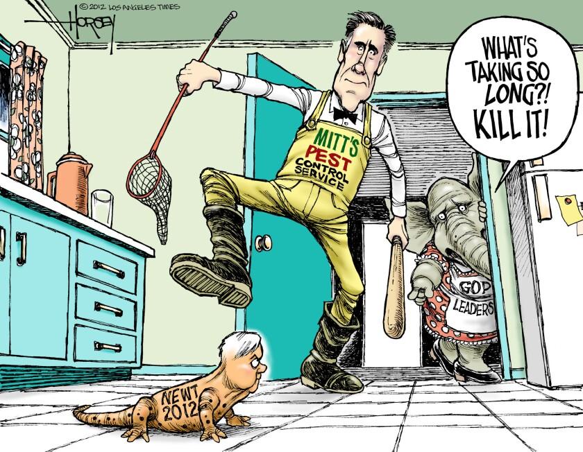 Mitt Romney kills Newt Gingrich in Republican debate