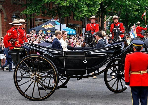 William and Kate tour Canada