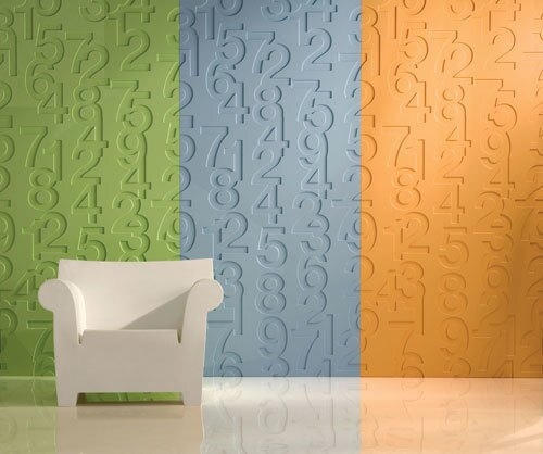Sculptured walls