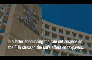 HUD suspends FHA mortgage insurance rate cut an hour after Trump takes office