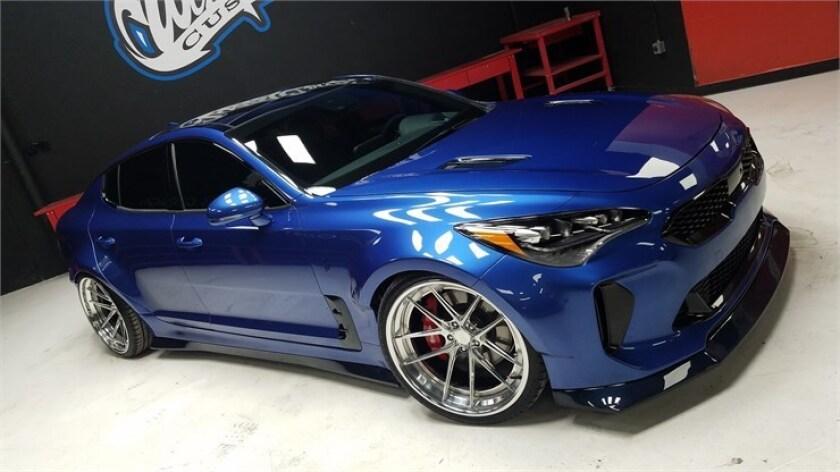 Special Kia Stinger GT Wide Body;