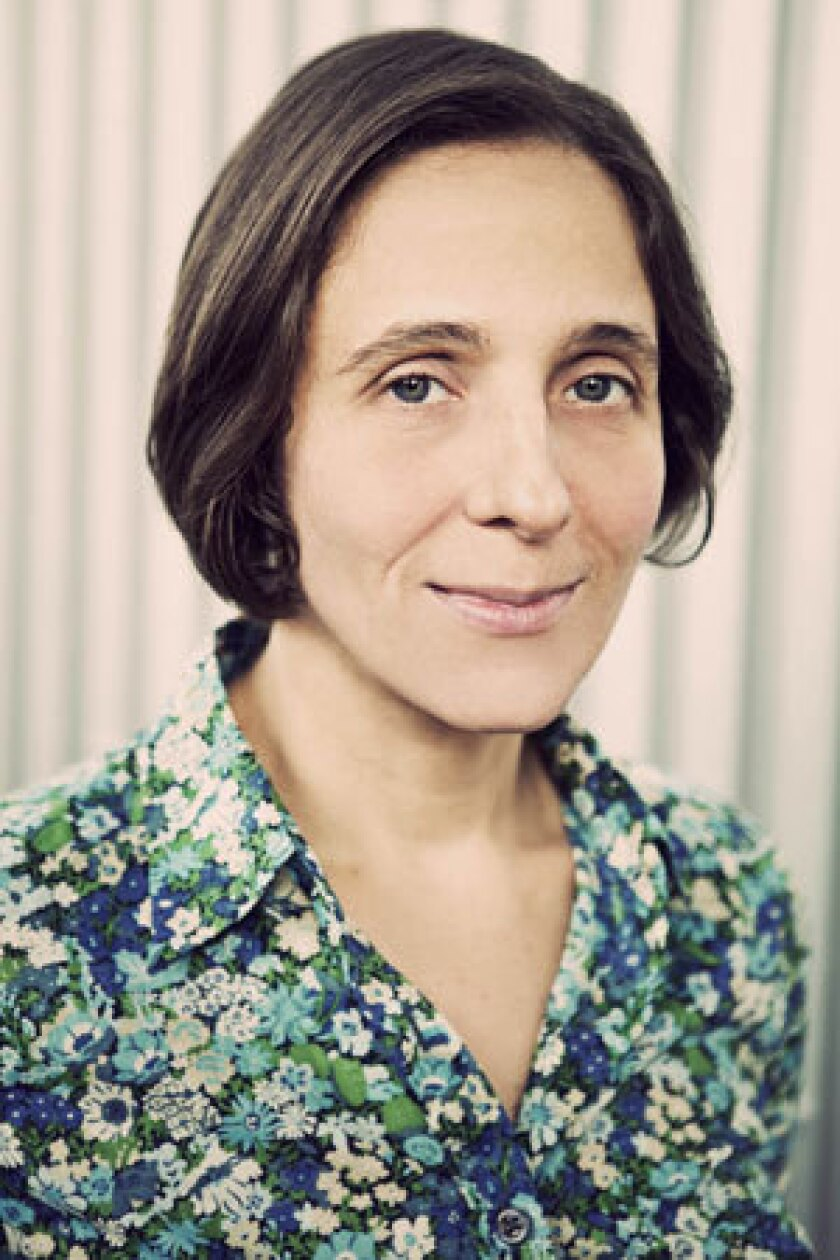 """Carmela Ciuraru author of """"Nom de Plume."""""""