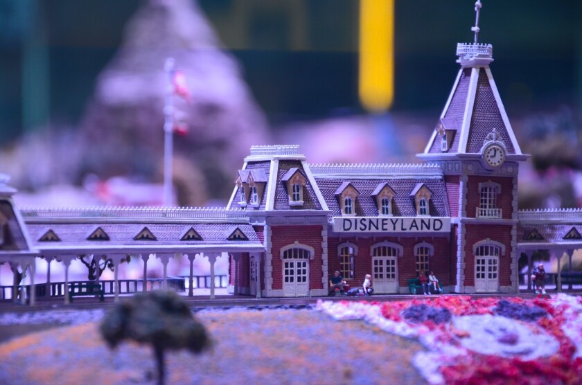 A model of Disneyland is among the features at the Walt Disney Family Museum in San Francisco's Presidio.