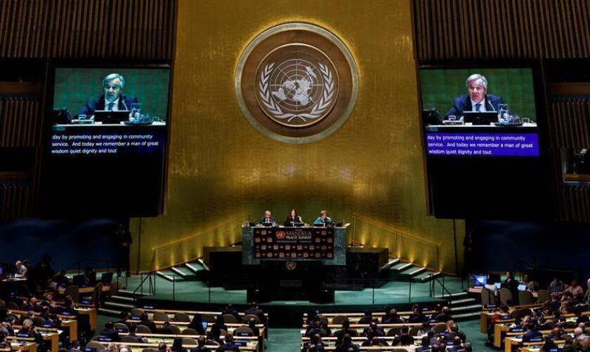 El secretario general de la ONU, António Guterres. EFE/Archivo