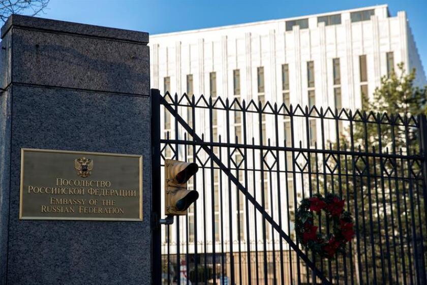 Propiedad del Gobierno ruso desde los tiempos de la Unión Soviética (URSS), las lujosas mansiones de Maryland y Nueva York cerradas por el presidente Barack Obama, han acogido durante años las fiestas y banquetes de los diplomáticos rusos, que ahora tendrán que abandonarlas debido a las sanciones. EFE/ARCHIVO