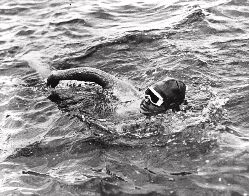 Nineteen-year-old Gertrude Ederle becomes the first woman to swim the English Channel.