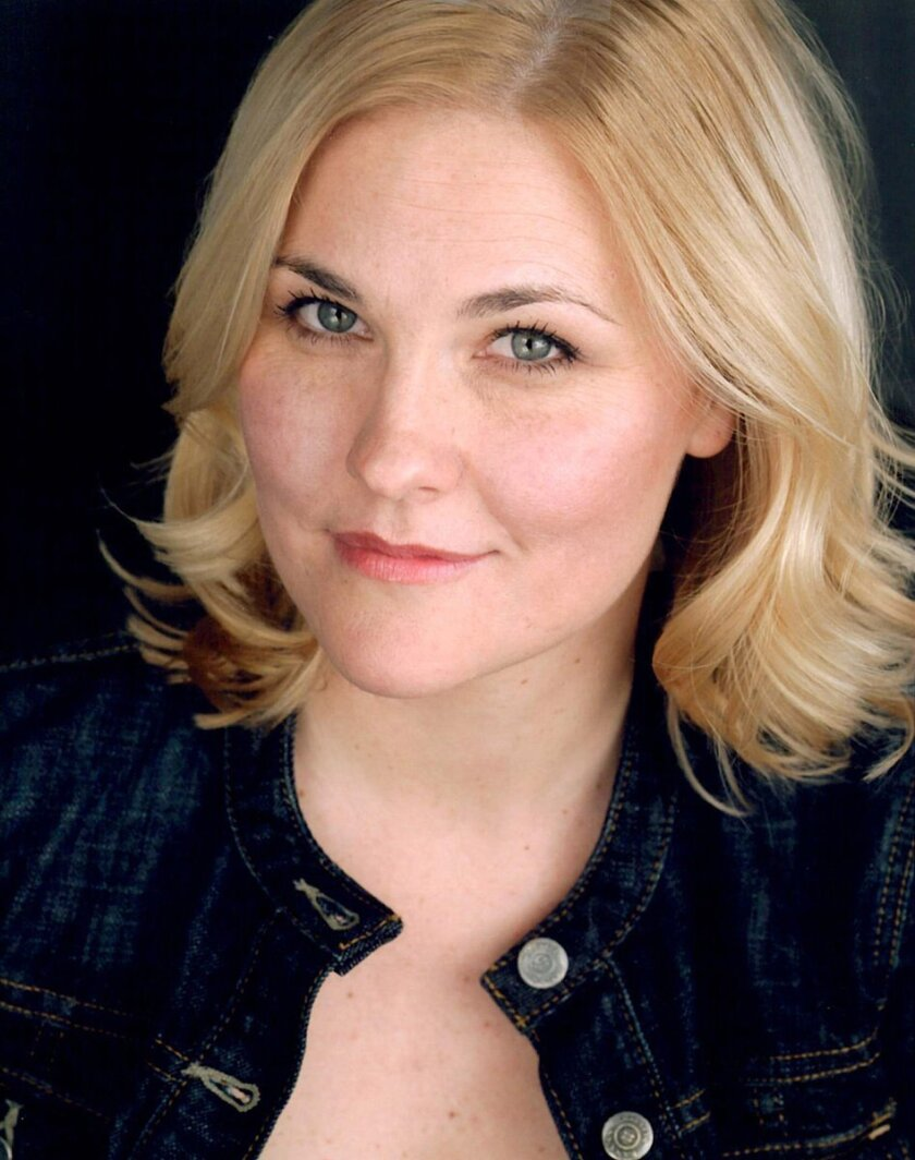 Kelly McAndrew plays outsider Pauline in 'Dividing the Estate.' Courtesy photo