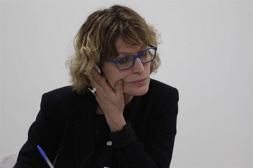 La relatora especial sobre muertes arbitrarias de la ONU, Agnes Callamard. EFE/Archivo