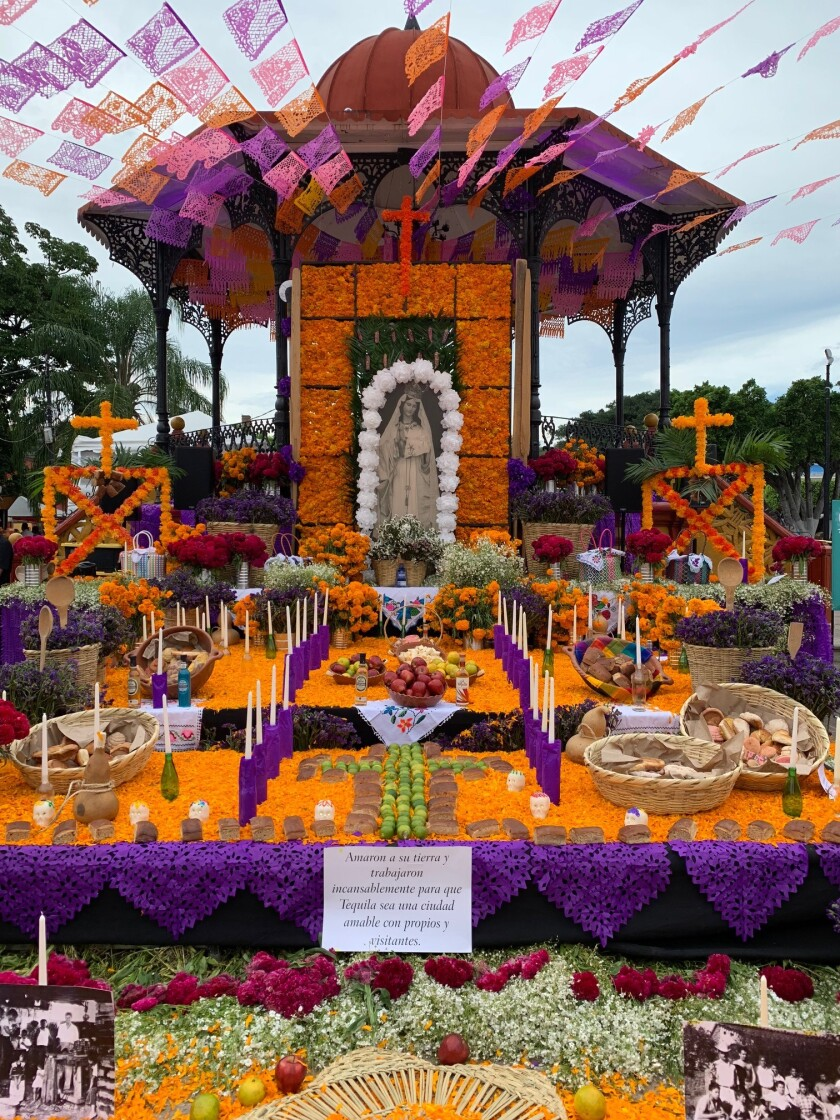 Day of the Dead in Tequila, Mexico