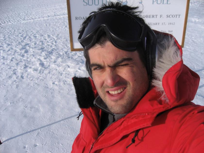 Astrophysicist Brian Keating