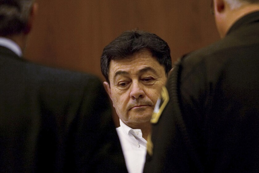 Mario Flavio Garcia at his murder trial in Sacramento in 2006.