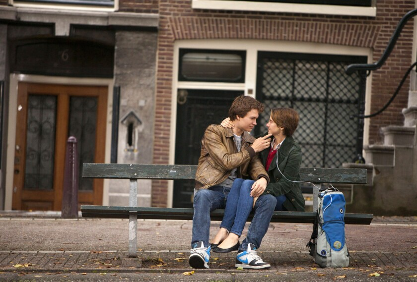 'The Fault in our Stars' stars Ansel Elgort and Shailene Woodley