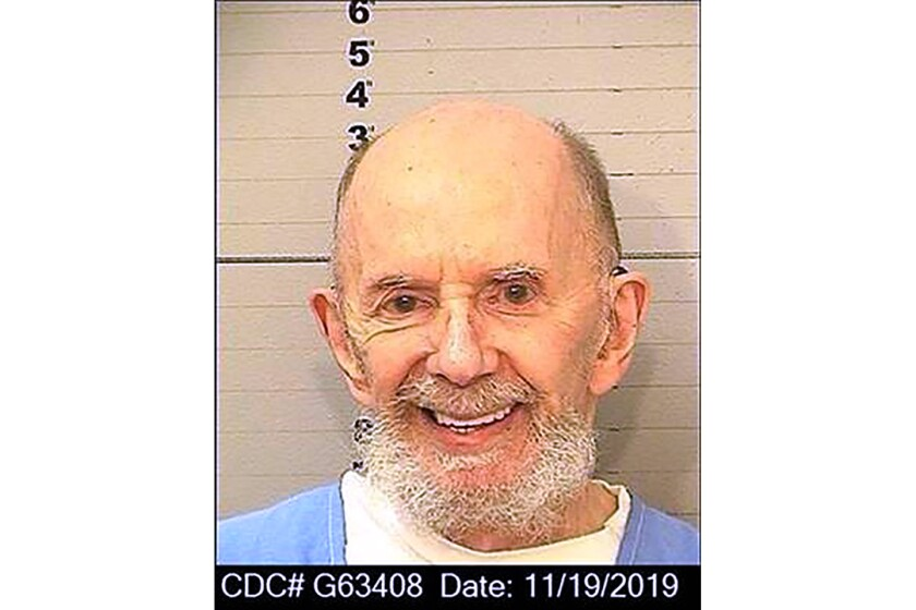 """This Nov. 19, 2019 booking photo provided by the California Department of Corrections shows Phil Spector. Spector, the eccentric and revolutionary music producer who transformed rock music with his """"Wall of Sound"""" method and who later was convicted of murder, died Saturday, Jan. 16, 2021. He was 81. (California Department of Corrections via AP)"""