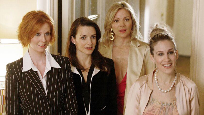 Cynthia Nixon from left, Kristin Davis, Kim Cattrall and Sarah Jessica Parker.