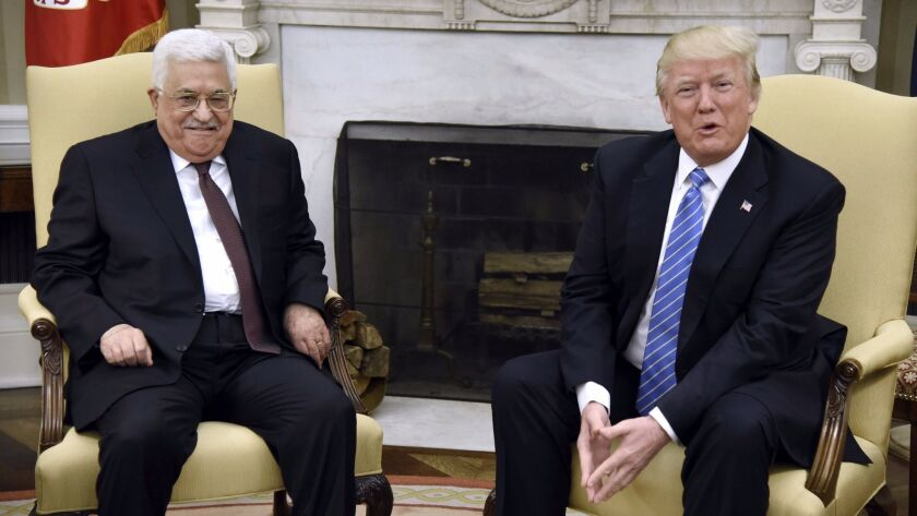 US to move of Embassy to Jerusalem, Washington, USA - 03 May 2017