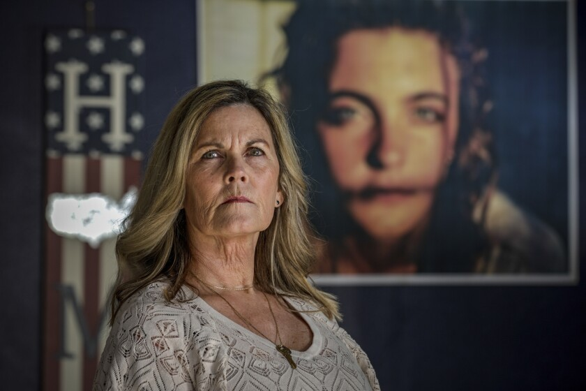 "Cindy Rael was shocked and angry when she learned that Gov. Gavin Newsom had halted executions. ""There is one question I would like to ask the governor: What if it was his daughter who was brutally murdered?"""