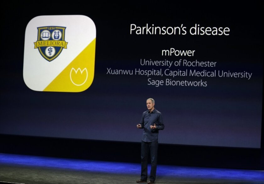 Apple on Monday announced five new apps to help biomedical researchers recruit study participants and gather data, and a toolkit that will expand the use of the iPhone as a biomedical research platform.