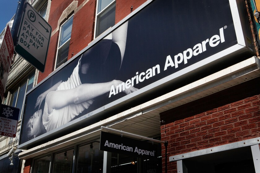 FILE: American Apparel Shareholders Reach Deal American Apparel Forced To Layoff Over A Thousand Factory Workers