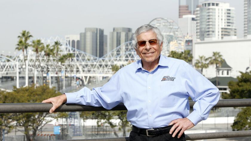 Jim Michaelian, CEO of the Grand Prix Assn. of Long Beach, which runs the annual Acura Grand Prix of Long Beach, an IndyCar Series race on city's seaside streets.