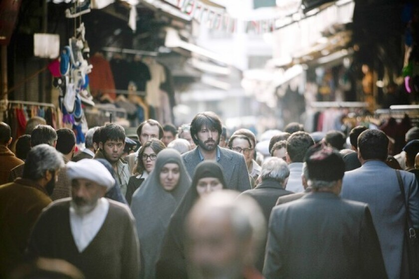 """Star Ben Affleck in a scene in """"Argo,"""" which he also directed. The film is about the rescue of six American diplomats who were stranded in Tehran after the U.S. Embassy was stormed in 1979."""