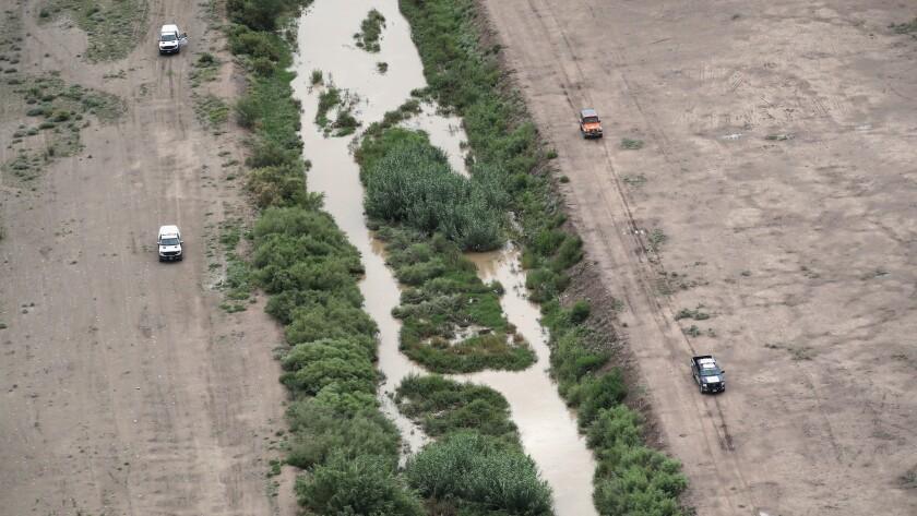 CBP Conducts Aerial Patrols Over El Paso Sector Of US-Mexico Border