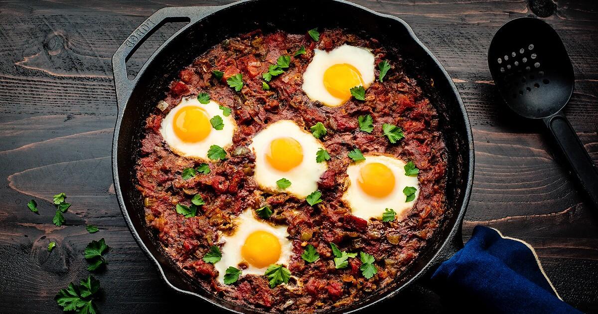 Love breakfast for dinner? Try shakshuka