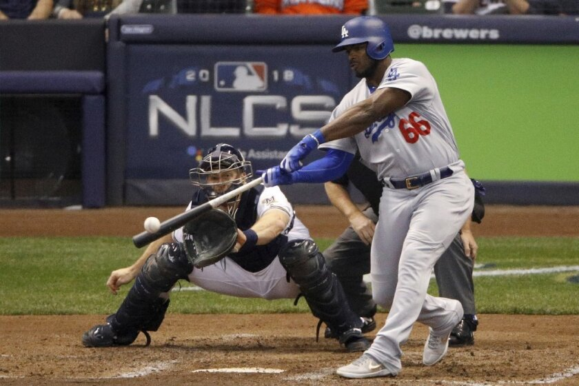 Los Dodgers mandan al cubano Yasiel Puig a Cincinnati
