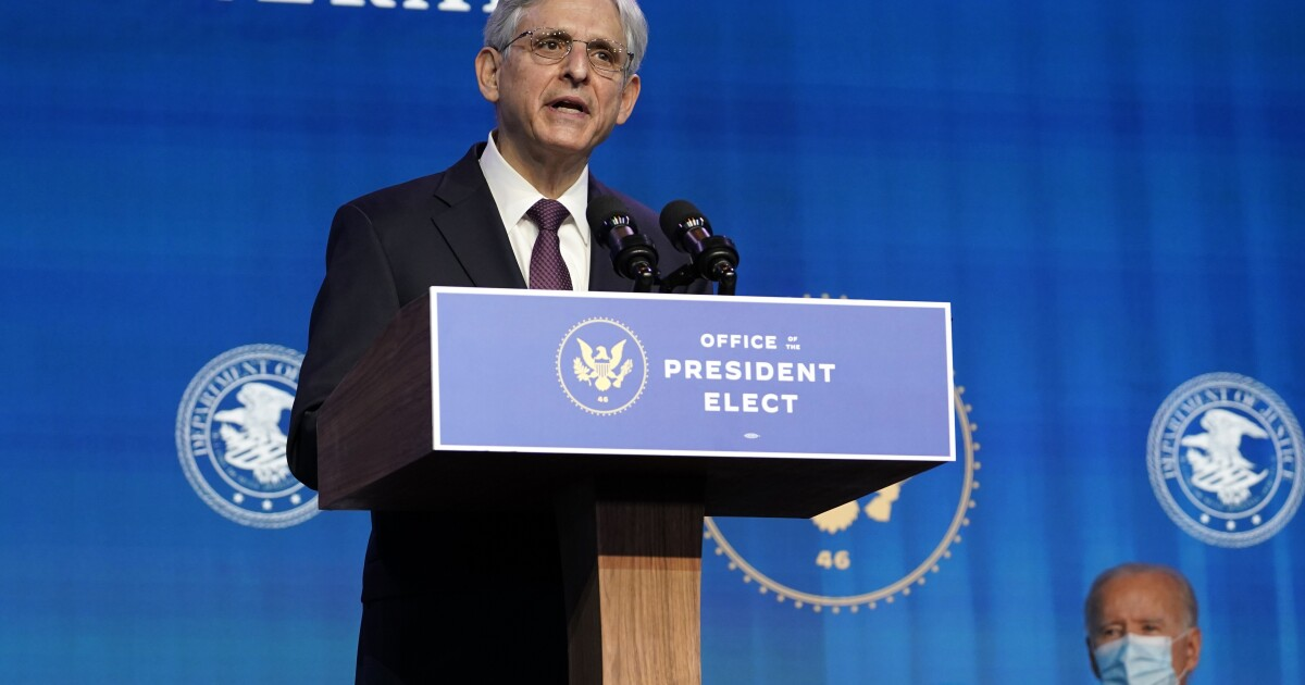 Atty. Gen. Merrick Garland vows to fight new GOP-led state voting laws - Los Angeles Times