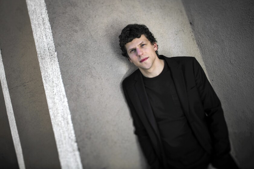 Jesse Eisenberg a.k.a. Lex Luthor puts his powers to new use with his play 'The Revisionist'
