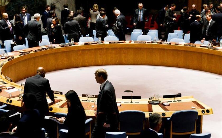 El Consejo de Seguridad de la ONU convocó para hoy a una reunión después de la violencia ocurrida en la frontera entre Gaza e Israel, que dejó al menos 15 palestinos muertos y más de un millar de heridos. EFE/ARCHIVO