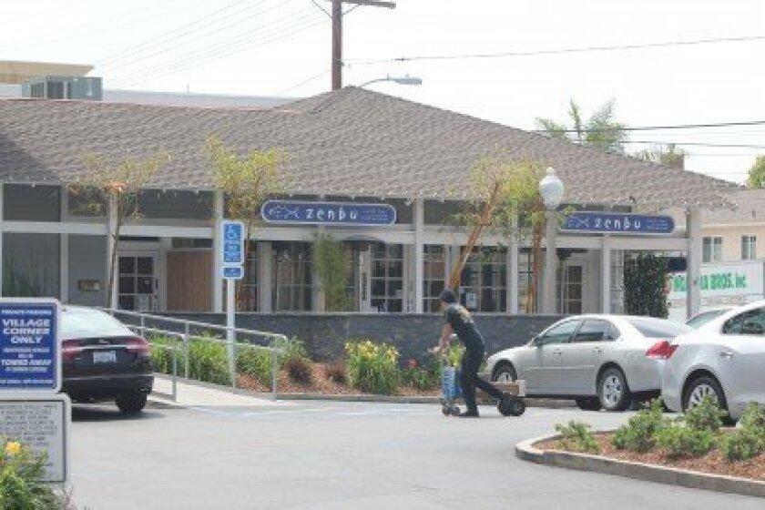 Zenbu opened in La Jolla in 2000, under the same ownership as Rimel's Rotisserie.