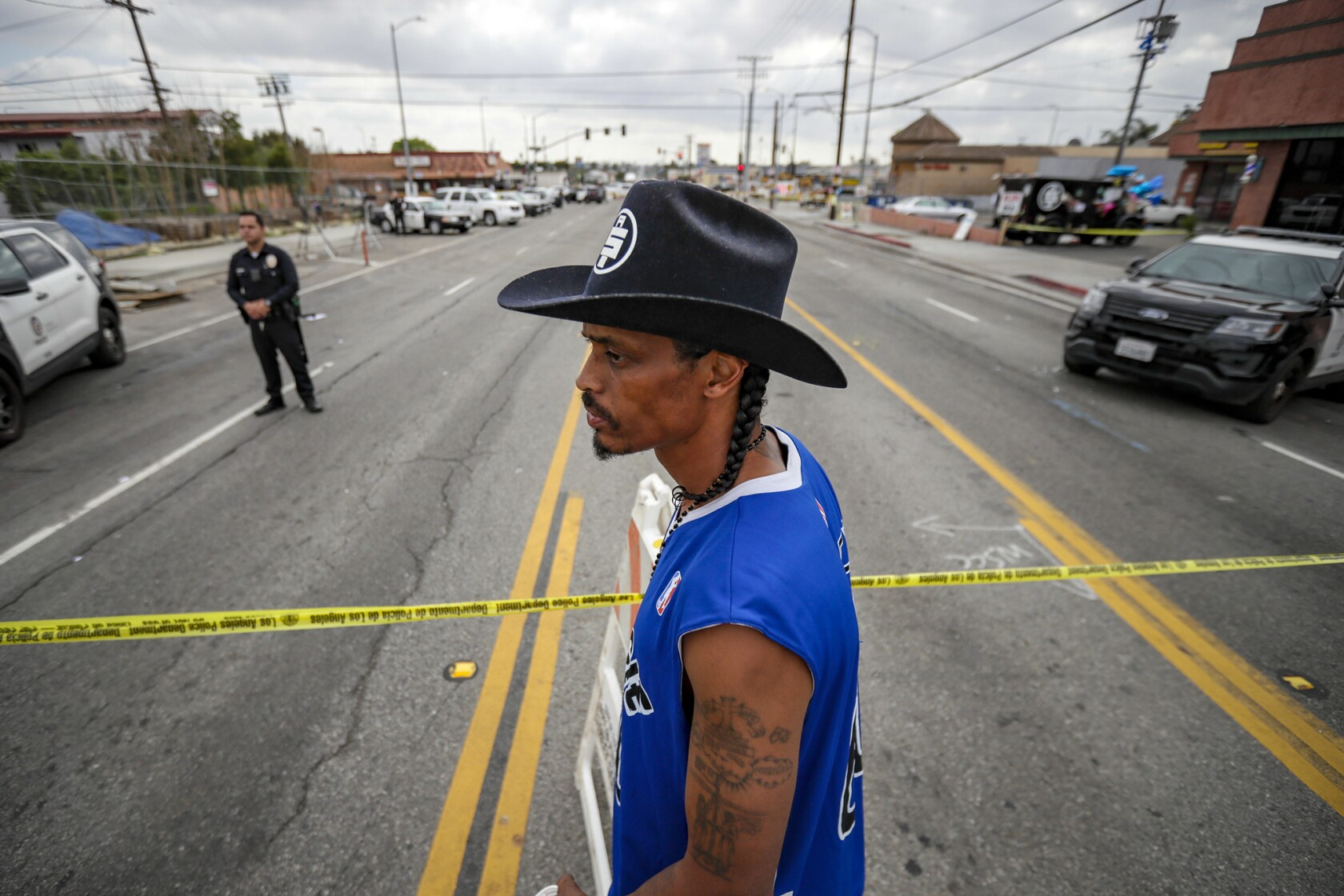 Killing of Nipsey Hussle in South L A  likely has some ties to gangs
