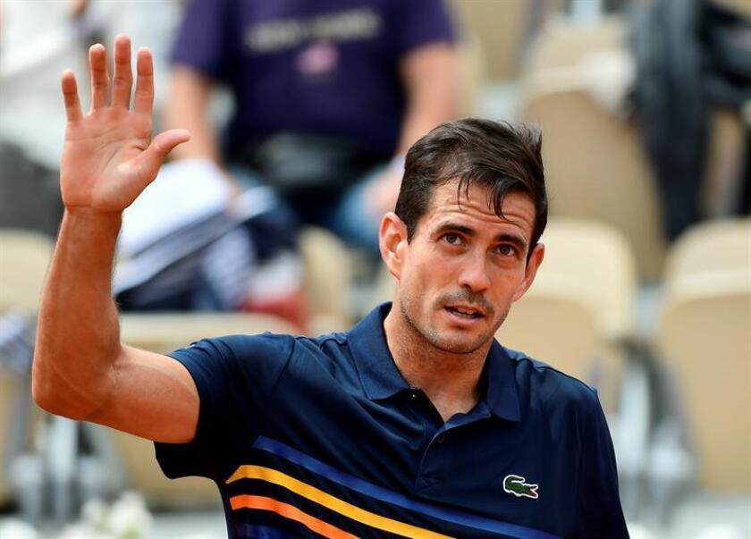 En la imagen, el tenista español Guillermo García López. EFE/Archivo