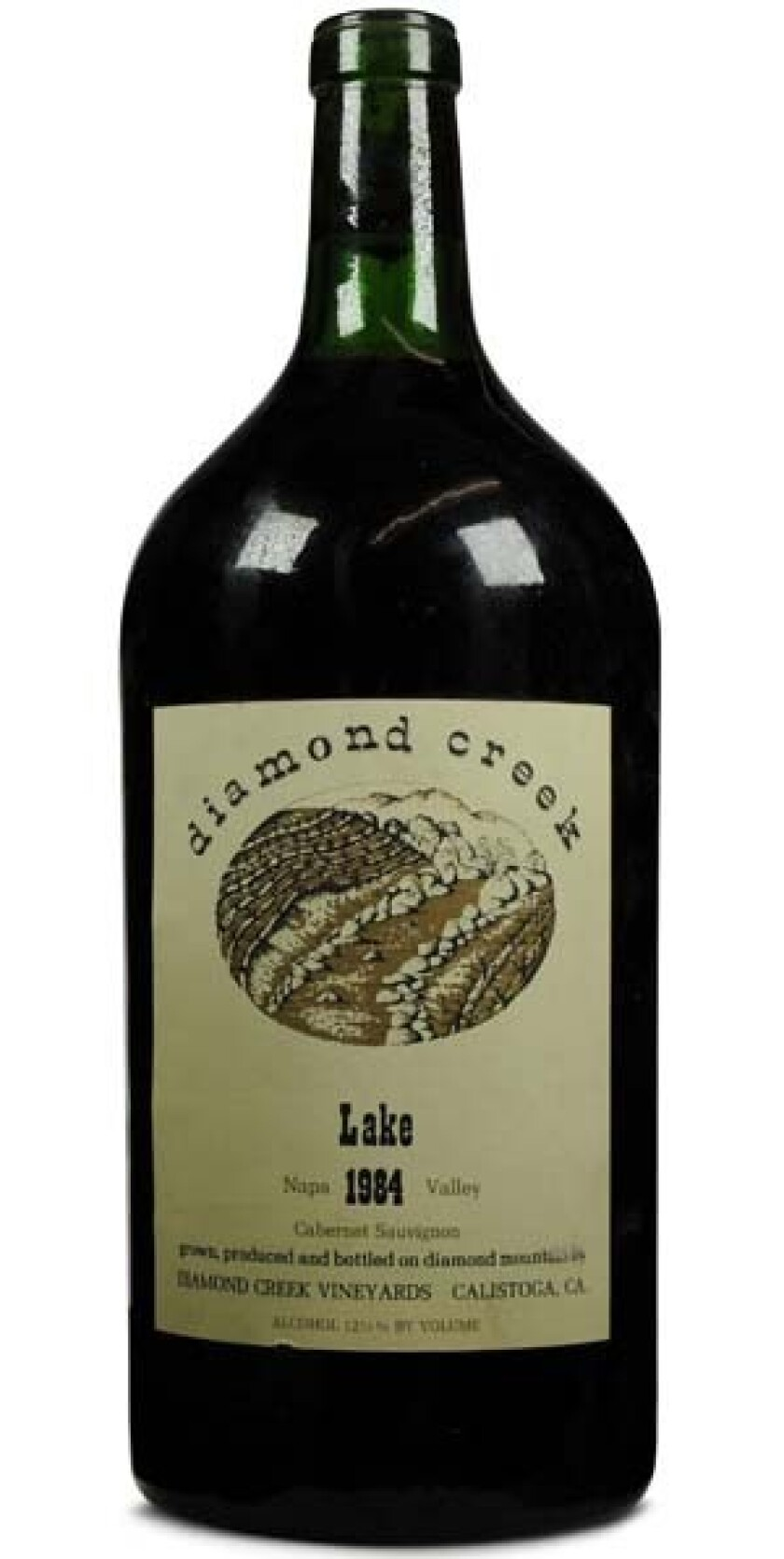 1984 Diamond Creek Lake Cabernet Sauvignon